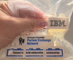 Trade Show Give Away: Partner Exchange Network Legos